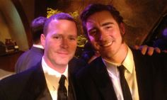 Steven McMichael, Lee Pace At The Hobbit premiere in NY with Lee Pace (Thranduil in The Hobbit films)