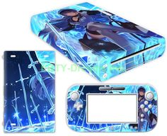 EBTY-Dreams Inc. - Nintendo Wii U - Akame ga Kill! Anime Girl General Esdeath Vinyl Skin Sticker Decal Protector
