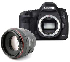 CANON EOS 5D Mark III DSLR Camera with EF 50 mm f/1.2 USM
