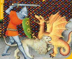 Yvain et le lion