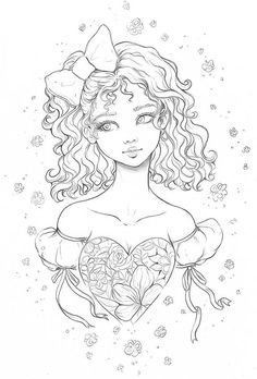 Sailor Moon Coloring Pages, Cute Coloring Pages, Cartoon Coloring Pages, Adult Coloring Pages, Coloring Sheets, Coloring Books, Disney Princess Coloring Pages, Disney Princess Colors, Pretty Art