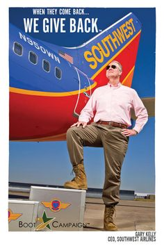 Southwest Airlines supports the TROOPS!