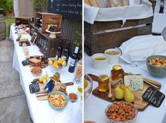 Wine and Cheese Party Decorations | Uploaded to Pinterest