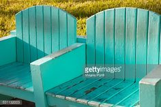 Stock Photo : Wooden beach chairs at Miami Beach Outdoor Chairs, Outdoor Furniture, Outdoor Decor, Wooden Beach Chairs, South Beach Miami, Stock Photos, Green, Photography, Home Decor