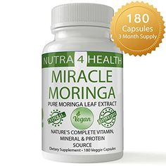 Moringa Olifeira 100 NATURAL INDIA GROWN MORINGA OLEIFERA 180 CAPSUELS POWDER Malunggay Capsules Breastfeeding Vitamin Supplement made from Moringa Oleifera Leaf Extract Moringa Powder 1200mg * Find out more about the great product at the image link.Note:It is affiliate link to Amazon.