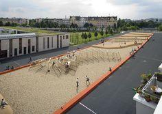 quartiersplatz theresienhöhe Playgrounds, Hockey, Basketball Court, Field Hockey, Ice Hockey