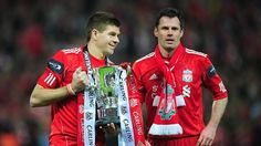 "Steven Gerrard was heralded as Liverpool's ""greatest player ever"" by team-mate Jamie Carragher as the England captain was honoured by the Football Writers' Association at a gala tribute dinner in London."