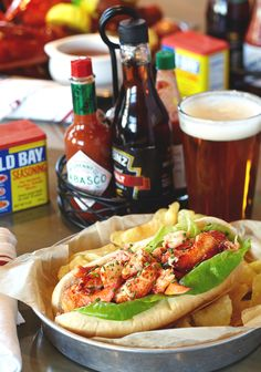 If you're not from New England, you may not be familiar with this sandwich served in restaurants and homes up and down the New England coast. It's an easy and delicious way to savor lobster.