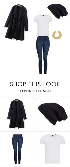 """""""Untitled #10"""" by ifla-bae ❤ liked on Polyvore featuring Halogen, Topshop, Scotch & Soda and Chanel"""