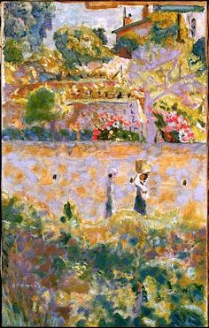 "Bonnard Pierre, ""Grape Harvest"" http://anonimodelapiedra.blogspot.com.es"
