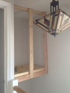 Stairwell Storage storage above stairwell - google search | stairs | pinterest