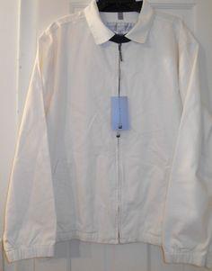 NEW $175 MENS GEOFFREY BEENE ALL WEATHER ZIP GOLF COAT JACKET~XL~SALE~NICE GIFT! #GeoffreyBeene #WeatherAll