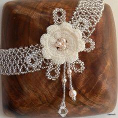 art, crafts and beads: SashaSi for Olina Bridal 2013