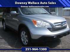 Used 2007 Honda CR-V EX-L 2WD AT for Sale in Loxley AL 36551 Downey Wallace Auto Sales