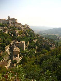 Gordes, hilltop village in the south of France