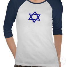 Star Of David T-shirts.  Prices start at $25.15