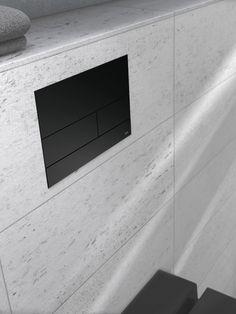 TECE Square spolknapp i matt svart metall – denna spolknapp bygger endast 3mm utanpå plattorna. Luxor, Home Decor, Decoration Home, Room Decor, Home Interior Design, Home Decoration, Interior Design