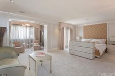 Relaxing space: Richards added 2,500 square feet to the house much of which went into crea...