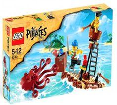 1 Large Black Squid ~ Pirate ~ Lego ~ NEW ~ Pirates