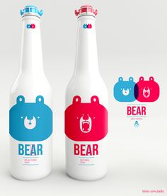 ICE BEEAR by AARON MARTINEZ, via Behance