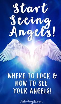 Start Seeing Angels! Learn where to look and how to see your angels... This works even if you don't feel like you're clairvoyant! #seeangels #clairvoyance