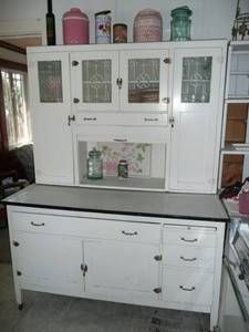 Hoosier cabinets pie safes on pinterest pie safe for 1930s kitchen cabinets for sale