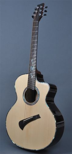 Sandén acoustic with fanned frets