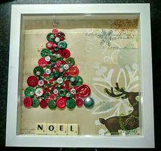 Button craft christmas
