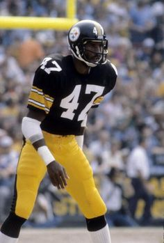Old School Football - LRZ - Mel Blount, Hall of Fame Defensive Back of the Pittsburgh Steelers - Nfl Football Players, Pittsburgh Steelers Football, Pittsburgh Sports, Football Boys, School Football, Pitt Steelers, Steelers Helmet, Steelers Pics, Broncos