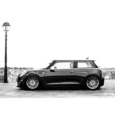 Lowered mini F56 #cars #minicooper #f56