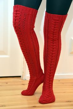 Cable Knit Socks, Knit Boots, Knitting Socks, Thigh High Socks, Knee Socks, Boot Socks, Argyle Socks, Sexy Socks, Knitted Slippers