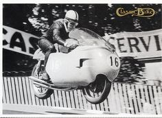 John Surtees,1957 MV Agusta 350  Only World Champion on 2 & 4 Wheels