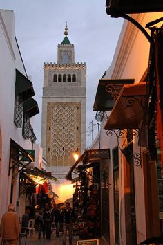 Tunis, Tunisia [...Are you saying your girlfriends are not good enough by claiming to do things with a foreigner?]