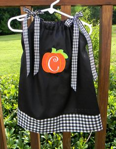Halloween pillowcase dress