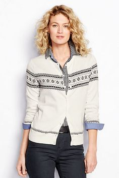 f31fd33bb06 Fair Isle Cardigan Sweater Cardigan Outfits