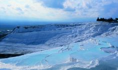 Visit the World Heritage Site of Pamukkale and Hierapolis. http://www.secretearth.com/attractions/1009-pamukkale-and-hierapolis