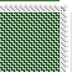 Figure 1359, A Handbook of Weaves by G. H. Oelsner, 4S, 4T - Handweaving.net Hand Weaving and Draft Archive
