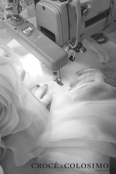 Couture gowns created with luxurious fabrics are individually tailored to each Croce & Colosimo bride.