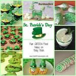 Fun GREEN Food for St. Patrick's Day