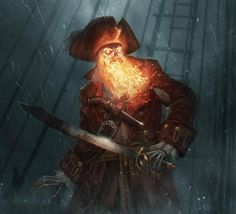"redskullsmadhouse: ""the_demon_pirate_lechuck """