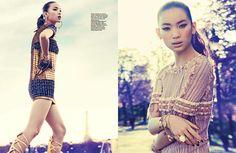 Harper's Bazaar Singapore December 2010: Kiki Kang by Gyslain Yarhi