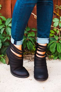 Strappy Summer Booties I 3 Colors