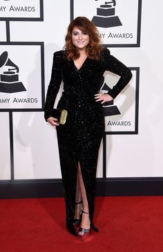 Meghan Trainor attends The 58th GRAMMY Awards