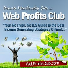 With Web Profits Club you'll learn how to make money online, you'll get insights to the best income strategies online. Business Advice, Online Business, Steps Web, Make Money Online, How To Make Money, Marketing Techniques, Copywriting, Affiliate Marketing, Insight