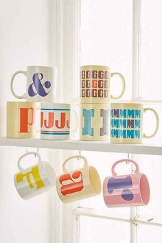 Typography Mug - Urban Outfitters