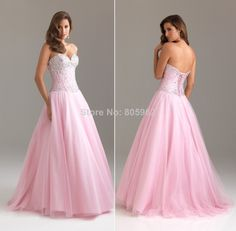 Aliexpress.com : Buy In Stock 2014 Sweetheart Strapless With beaded Ball Gown Quinceanera Dresses Floor Length vestidos de 15 anos Size 6 16 Q3 from Reliable Quinceanera Dresses suppliers on Suzhou Romantic Wedding Dress Co. Ltd
