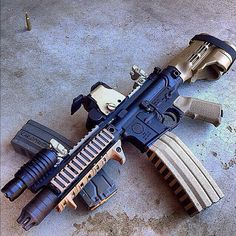 Mk107 with 50 round mag.