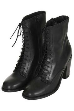 """I'm a bit in love with these Victorian style """"witch"""" boots! - Topshop £78"""