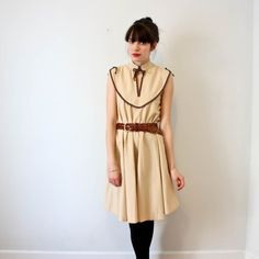 vintage dress-cream. awesome!