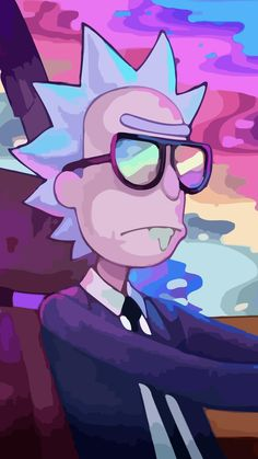 Tv Showrick And Morty Wallpaper Id 751719 for Rick And Morty Rainbow Wallpaper - All Cartoon Wallpapers Rick Wallpaper, Trippy Wallpaper, Rainbow Wallpaper, Cartoon Wallpaper, Laptop Wallpaper, Wallpapers For Mobile Phones, Mobile Wallpaper, Cute Wallpapers, Rick And Morty Quotes
